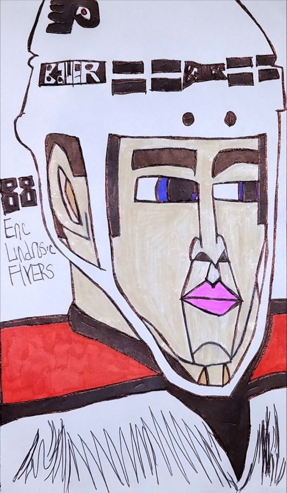 Eric Lindros by armattock
